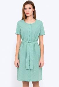 Платье-рубашка прямого силуэта Emka PL-590/marselina