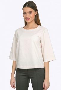 Блузка молочного цвета Emka B2311/joy