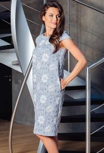 Летнее платье TopDesign Premium PA7 16