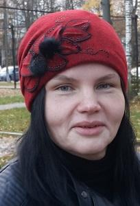 Женская шапка с маленькими помпончиками Willi Katissa