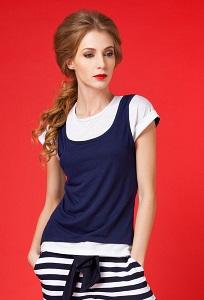 Женская футболка Viva La Donna 01-2