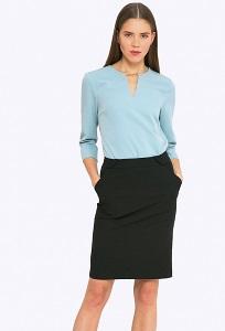 Недорогая стильная юбка Emka S682/lenora