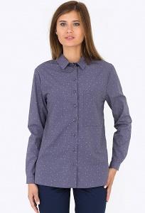 Хлопковая женская рубашка Emka Fashion b 2179/daloriya
