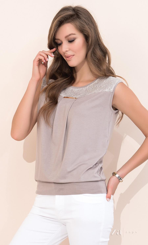 Блузка бежевого цвета доставка