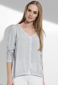 Блузка с длинным рукавом и V-образным вырезом Sunwear I35-5-15