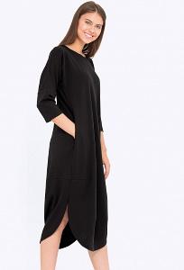 Удлиненное платье-футляр Emka Fashion PL670/paula