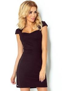 Чёрное платье Numoco 118-5