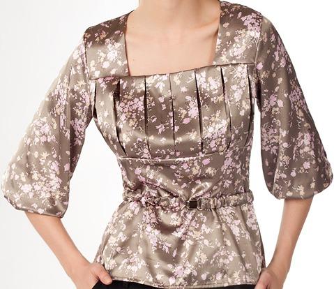 Фиолетовая Блузка Купить