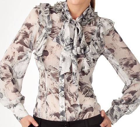 Купить Блузки Из Шифона Недорого