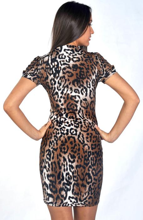 Купить Леопардовое Платье