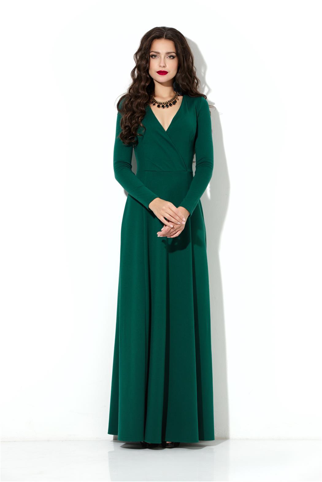 Купить Недорогое Зеленое Платье