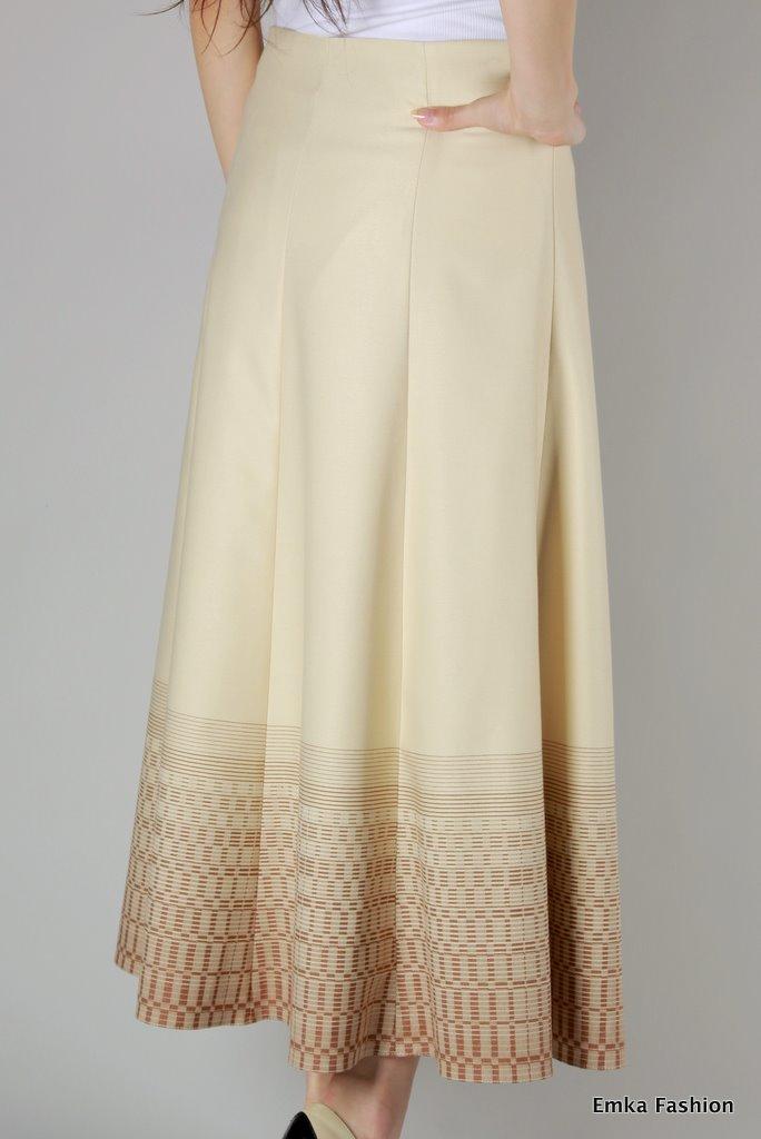 Купить светлую юбку