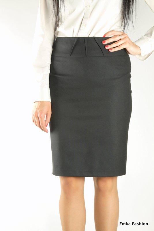 Черная юбка осеньм доставка