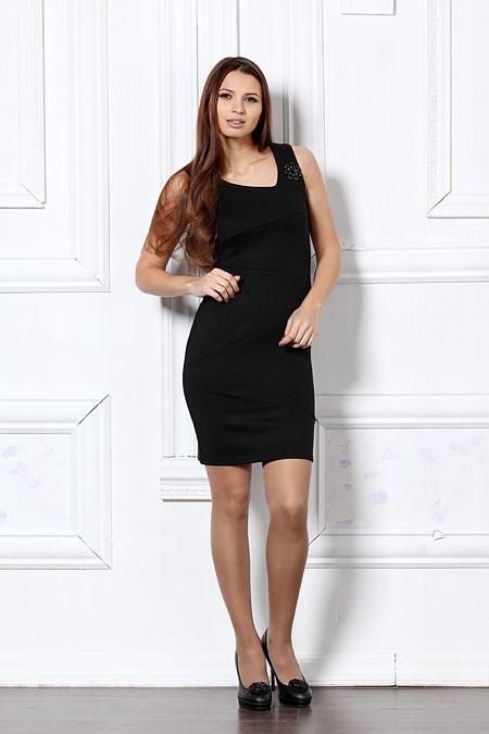 Черное Платье Туника Доставка