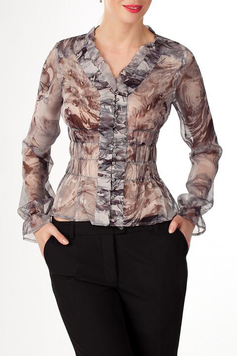 Блузки Из Шелка Купить В Спб