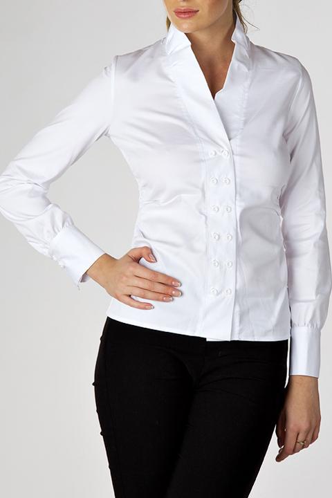 Белые Офисные Блузки Купить Доставка