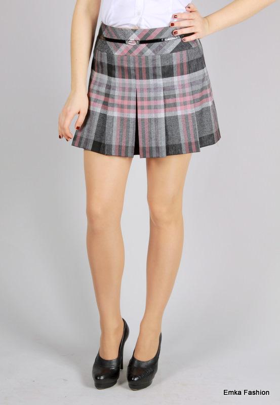Коричневая юбка доставка