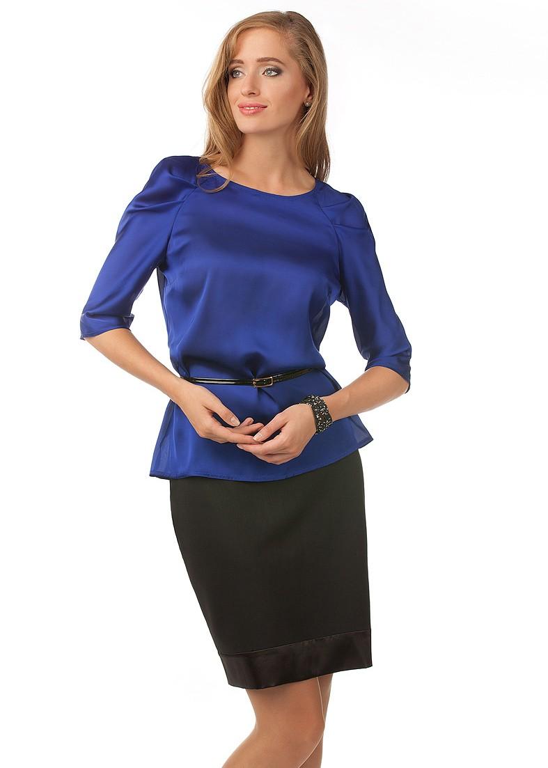 Блузки Темно Синего Цвета С Доставкой