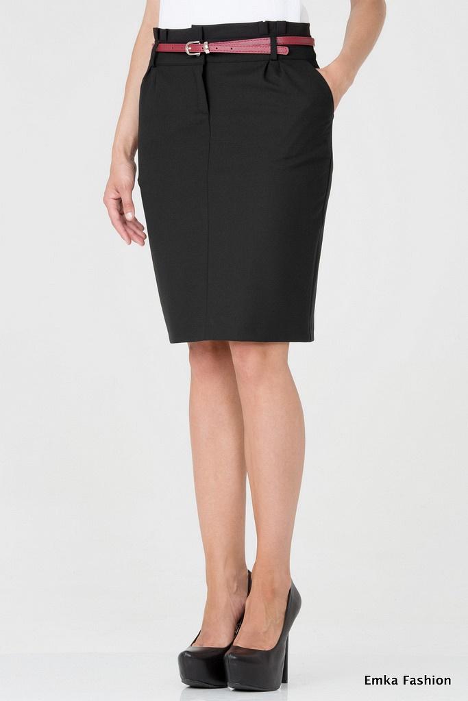 Длинная черная юбка доставка