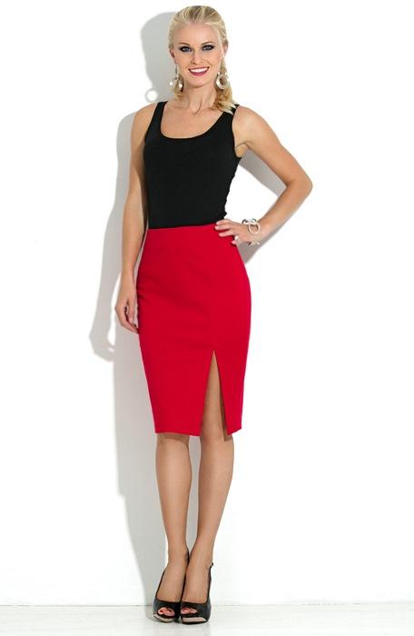Купить красную юбку доставка