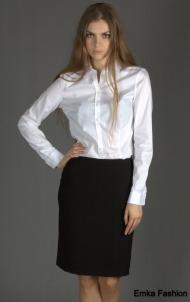 Черная юбка до колена Emka Fashion