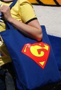 Клубная сумка Super Good (светится в ультрафиолете)