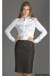 Темно-серая юбка Emka Fashion