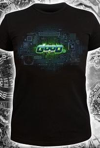 Клубная мужская футболка Good Сonnecting People