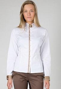 Приталенная блузка Golub   Б859-724-1542