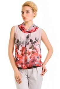 Полупрозрачная блузка Remix   4683