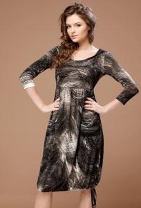 Приталенное платье TopDesign   B1 041