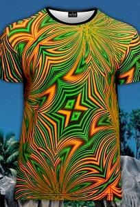 Мужская футболка Fluk Summer (светится в ультрафиолете)