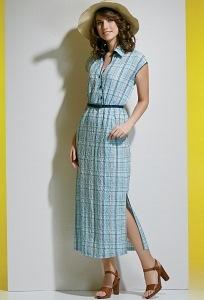 Летнее платье TopDesign A4 004