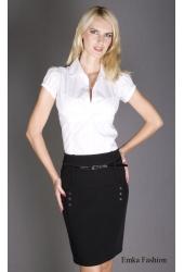 Черная элегантная юбка | 170-emporio