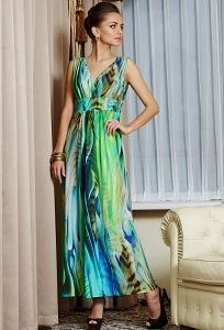 Длинное платье TopDesign Premium PA4 16