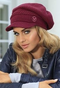 Модная женская кепка Kamea Mariola