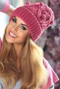 Тёплая шапка (коллекция 2015 года) Kamea Kasia
