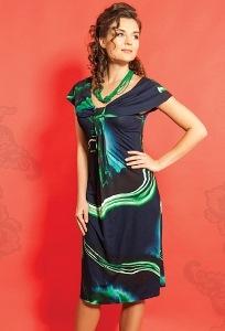 Трикотажное платье TopDesign A5 063