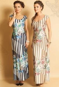 Длинное красивое платье TopDesign Premium PA5 66
