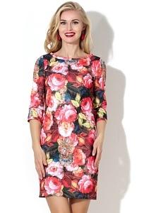 Короткое летнее платье Donna Saggia DSP-188-95t