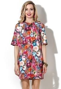 Короткое прямое платье Donna Saggia DSP-141-63t