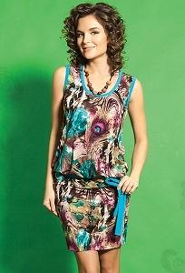 Летнее платье TopDesign A5 047
