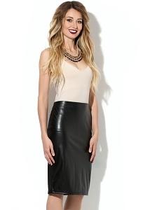 Комбинированная юбка Donna Saggia DSU-10-4t