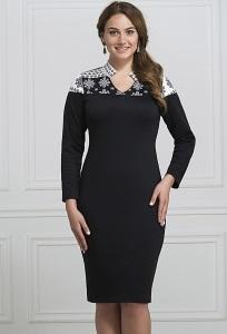 Трикотажное платье Rosa Blanco 3054