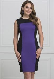 Платье из плотного трикотажа Rosa Blanca 3079