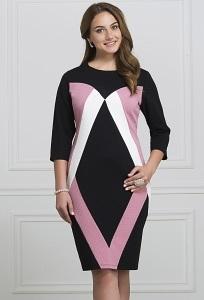 Платье полуприлегающего силуэта Rosa Blanco 3056