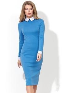 Платье с белым воротничком Donna Saggia DSP-157-43t