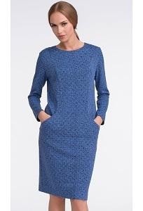 Платье синего цвета Sunwear US212