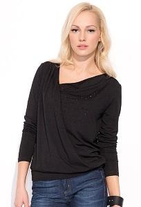 Блузка чёрного цвета Zaps Lorita