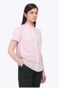 Светло-розовая классическая блузка Emka B2243/lily